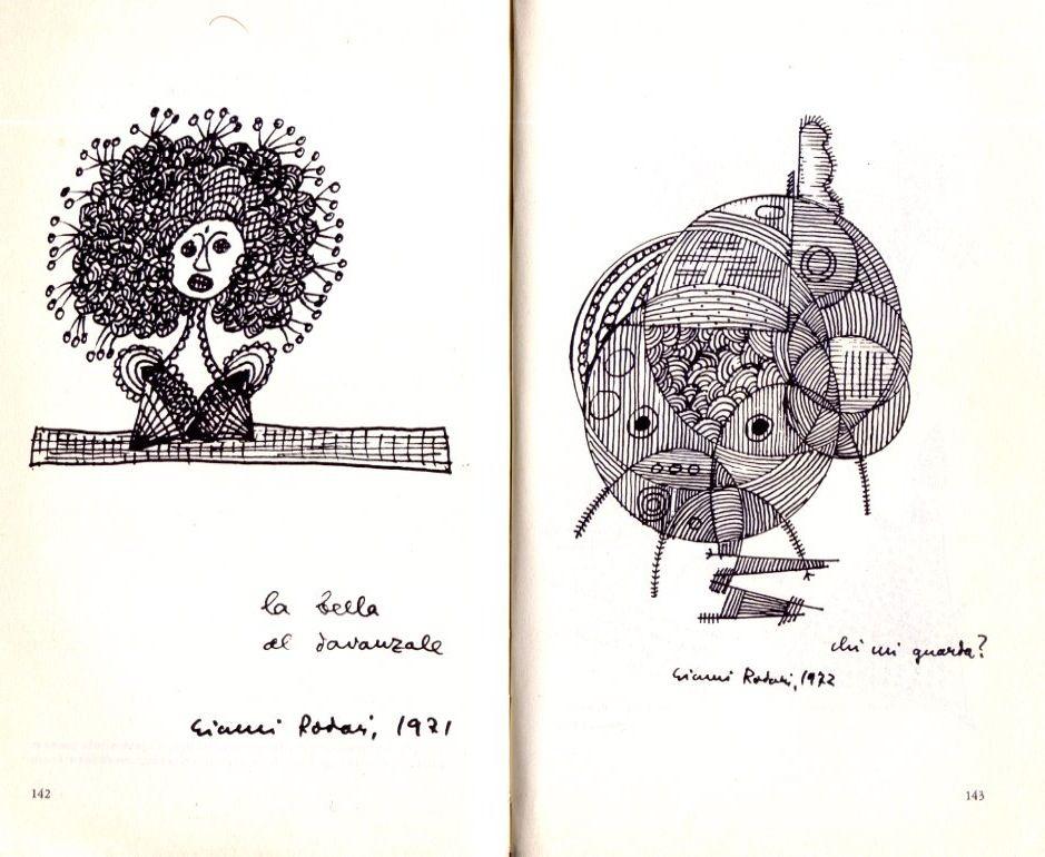 Gianni Rodari illustratore