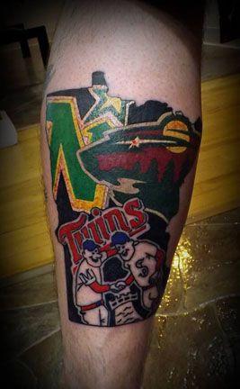 bfe236313 Minnesota pride tattoo by Tony Kofakis at Crimson Heart Designs, Turtle  Lake, WI
