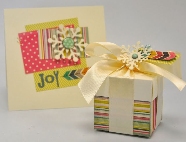 Crafting ideas from Debi Potter Sizzix UK: Simple & Modern Christmas using the snowflake dies