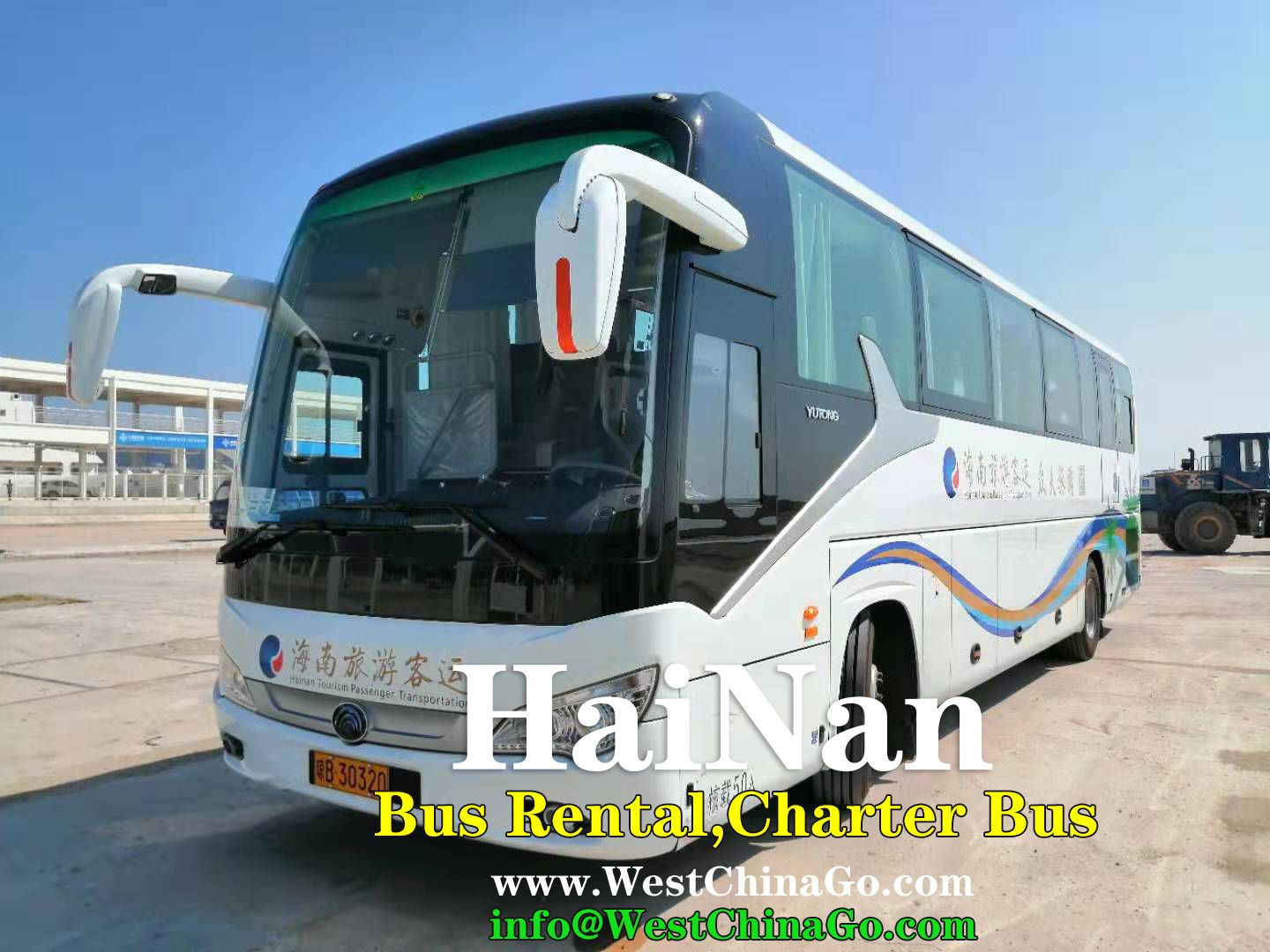 HaiNan SanYa Car|Bus Rental, charter bus