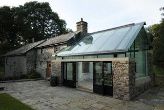Farmhouse Extension, Welsh Marches - Transitional - Exterior - other metro - by Jeff Kahane + Associates