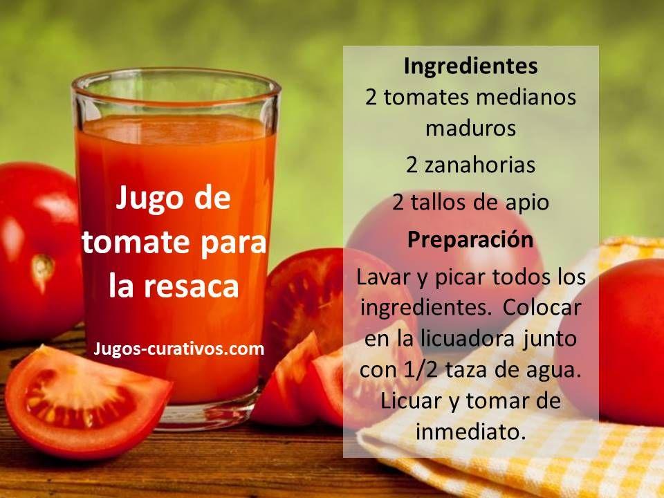 Zumo de tomate adelgazar