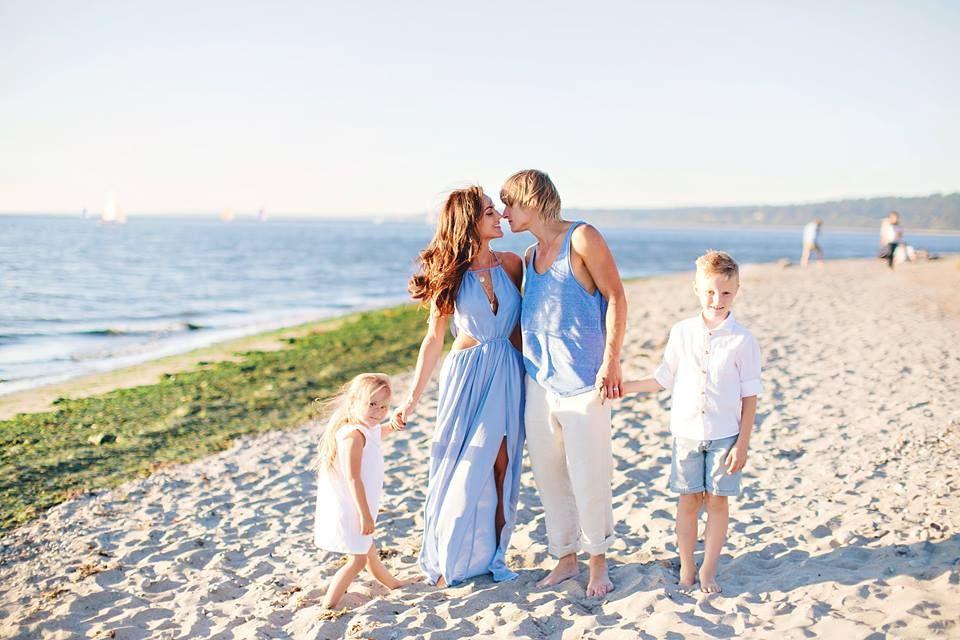 Family beach photo shoot ideas