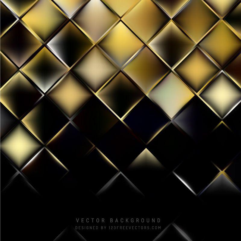Black Gold Square Background In 2019 Gold Glitter