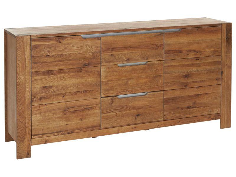 Sideboard MONTANA 175x40x85cm335880 Eiche rustikal