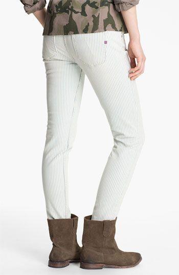 Vigoss Stripe Skinny Jeans (Juniors) | Nordstrom