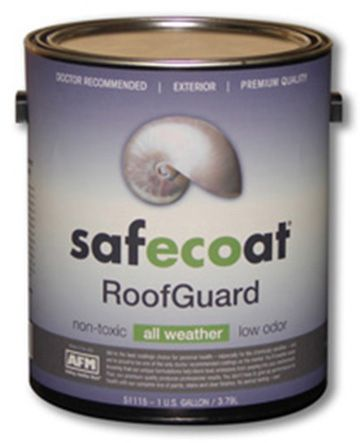 Afm Safecoat Dynoflex Roof Guard Non Toxic Elastomeric Roofing Sealer And Radiant Heat Bar Radiant Heat Barrier Heating And Air Conditioning Green Building