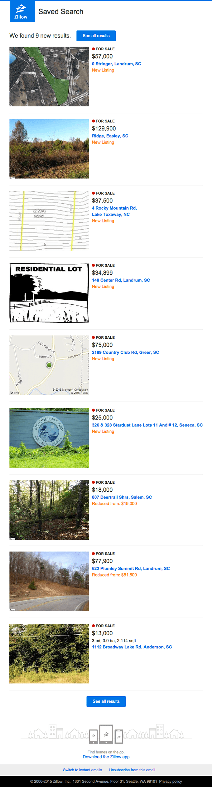 9 Results Your For Sale, Potential Listings near Easley