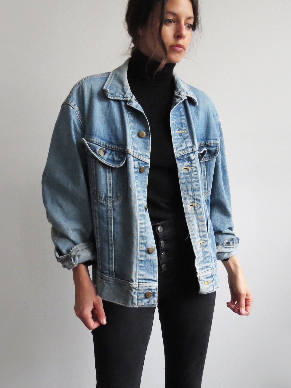 Vintage Lee Denim Jacket Sold Jacket Outfit Women Denim Jacket Women Vintage Denim Jacket