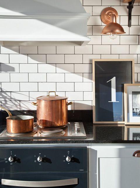 Azulejos Cocina Moderna | Una Cocina Con Estilo Parisino Y Un Toque Industrial Cocina
