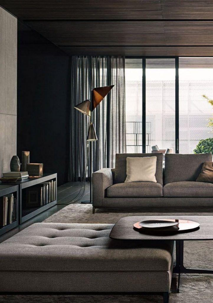37+ Stunning Modern Minimalist Living Room Layout Ideas ...