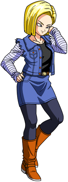 Android 18 Render 14 By Maxiuchiha22 Android 18 Dragon Ball Krillin And 18