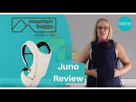 Mountain Buggy Juno Baby Carrier Review By Know How Reviews Youtube Baby Carrier Reviews Mountain Buggy Baby Carrier
