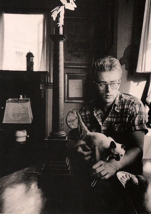 James Dean at home, 1950s
