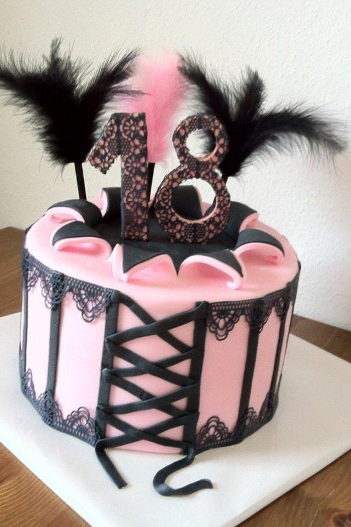 ▷ 1001+ Ideen für Torte zum 18. Geburtstag für unvergessliches Feier #celebrationcakes