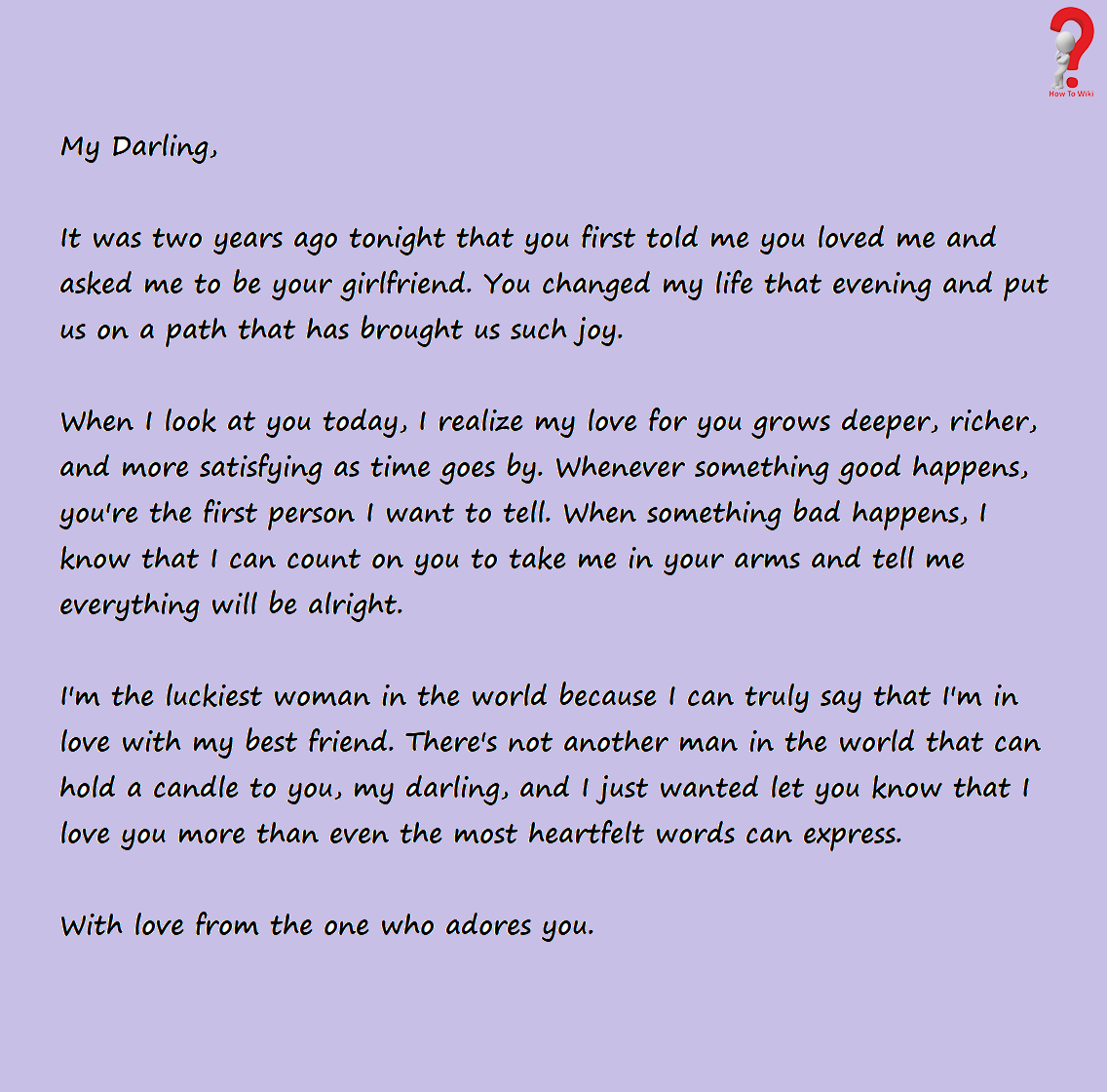 How To Write Love Letter For Boyfriend (With images