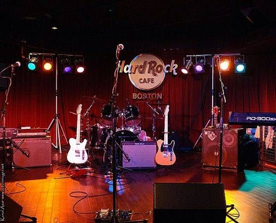 Hard Rock Cafe Boston Birthday Parties Corporate Events Bat Bar Mitzvahs Hard Rock Cafe Rock Decor Hard Rock