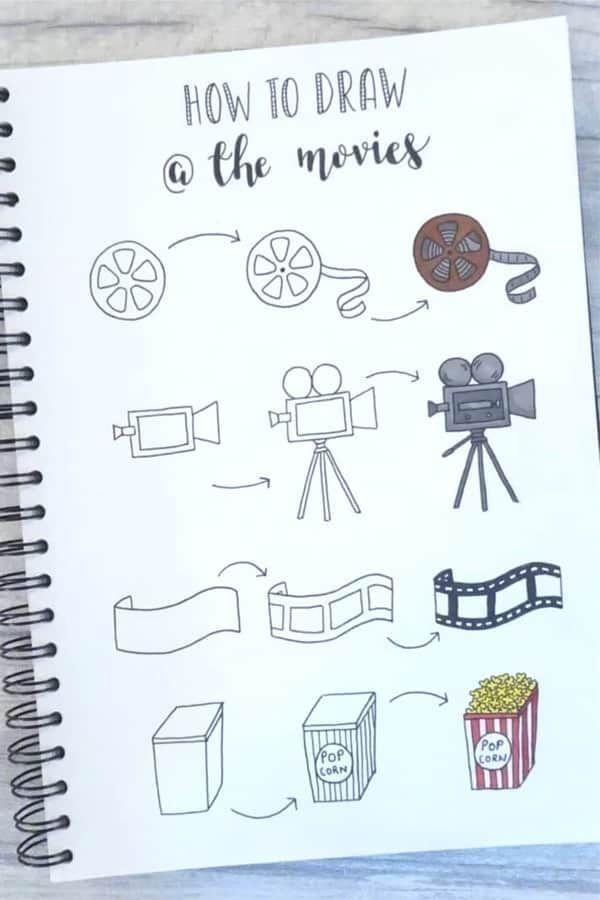 Step By Step Bullet Journal Doodle Tutorials Vol.1... - #Bullet #Doodle #Journal...