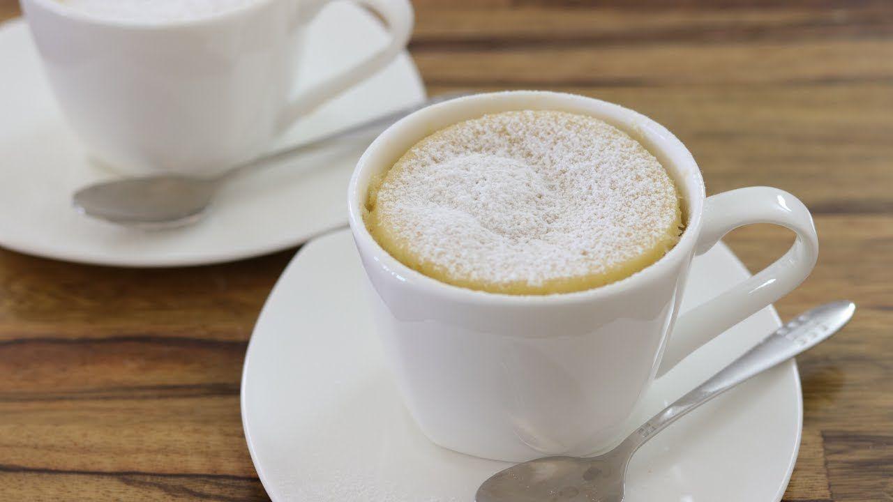 Easy Vanilla Mug Cake Recipe | How to Make Microwave Mug ...