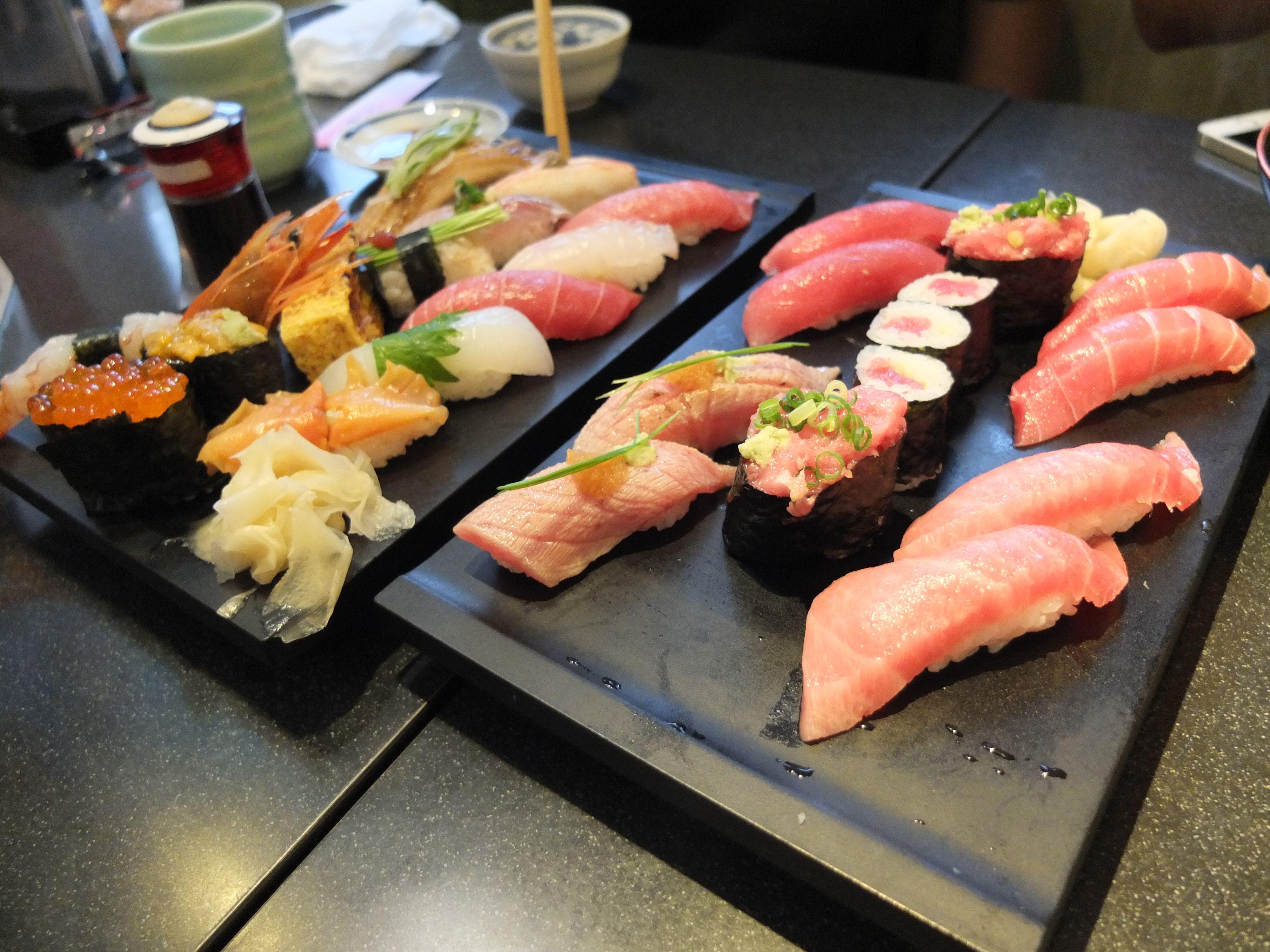 went to sushi Zanmai Today! (Tsukiji tokyo) #TTDD   Foof and