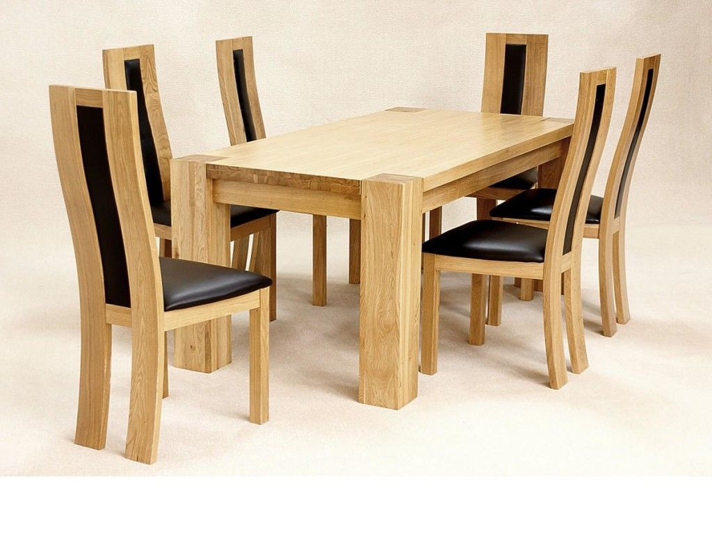 Solid Oak Kitchen Table And Chairs Oak Dining Sets Cheap Dining