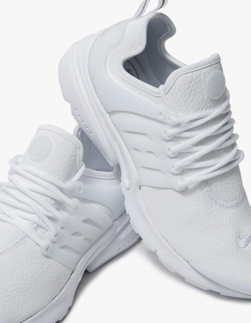 76a203172b135 Nike   Air Presto PRM in White in 2019