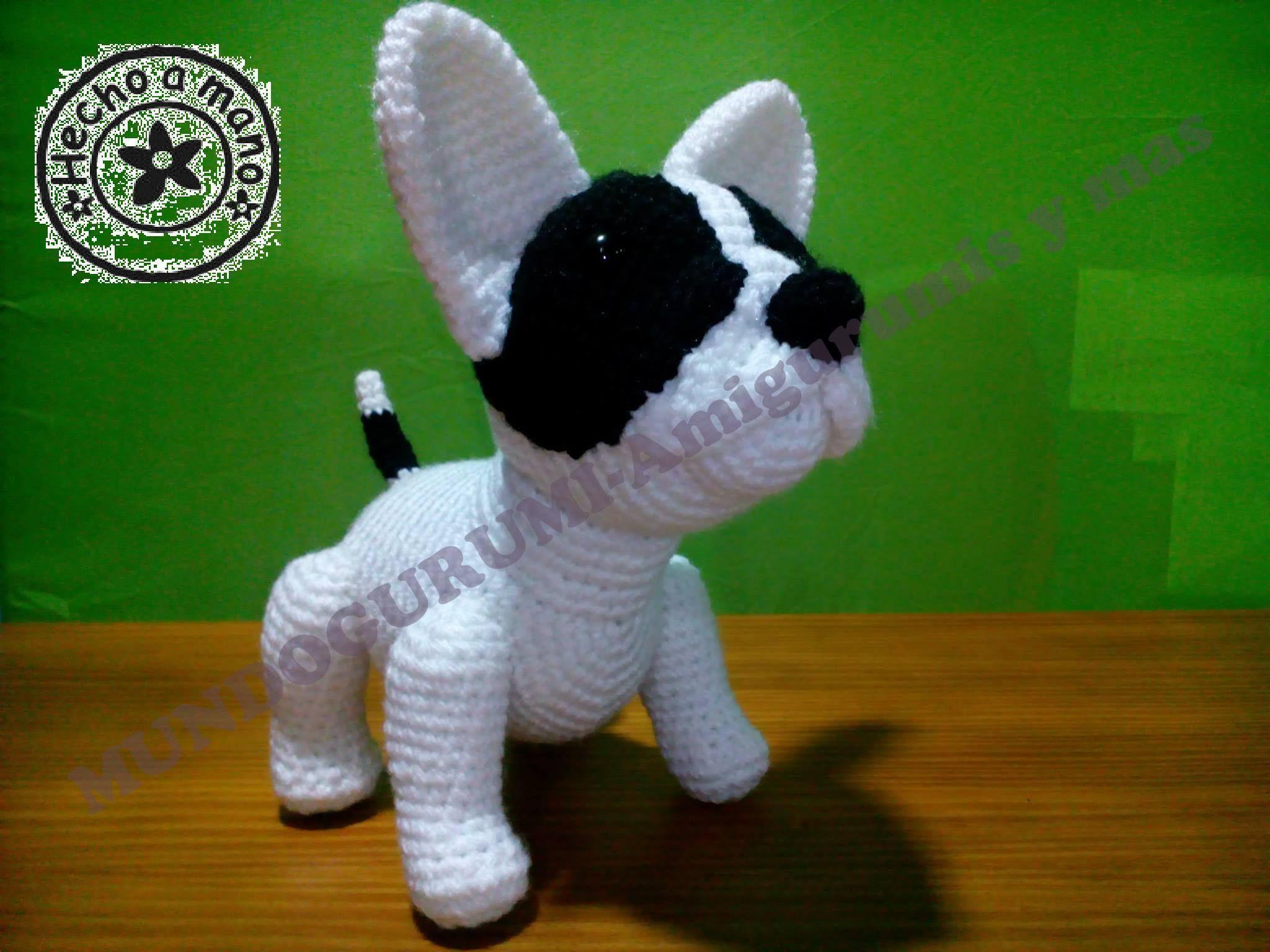 Ravelry: Bulldog amigurumi pattern by Elisa Sartori | 1536x2048
