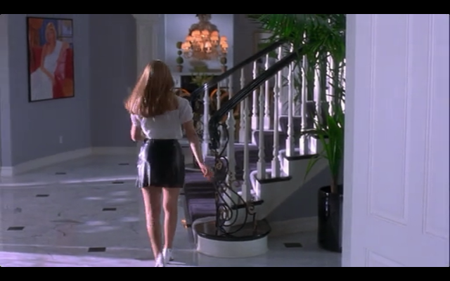 Leather skirt | Clueless | Clueless 1995, Clueless, Leather