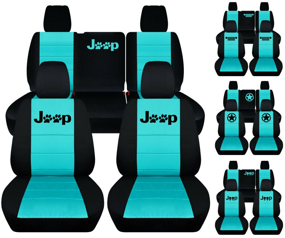 Ad Ebay Fits Jeep Liberty Front Rear Car Seat Covers Black