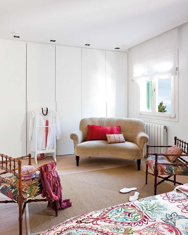floor to ceiling cupboards ...