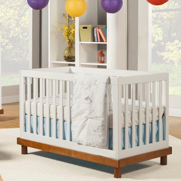 Olivia 3 In 1 Convertible Crib Cribs Convertible Crib White Baby Cribs
