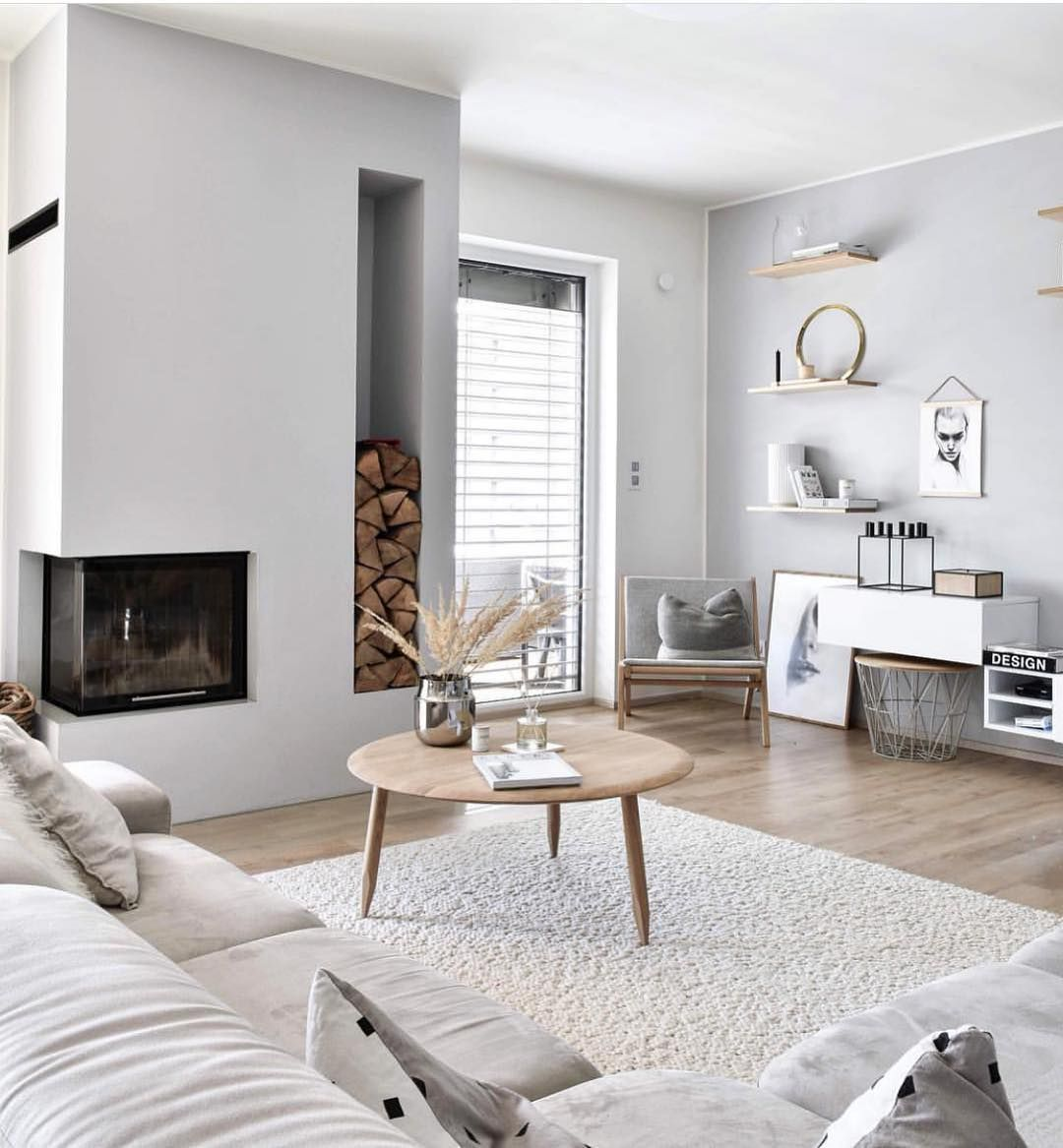 Bright Whites, Neutral Greys And Light, Natural Wood