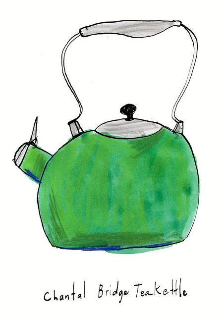 Cute illustration: Tea Kettle
