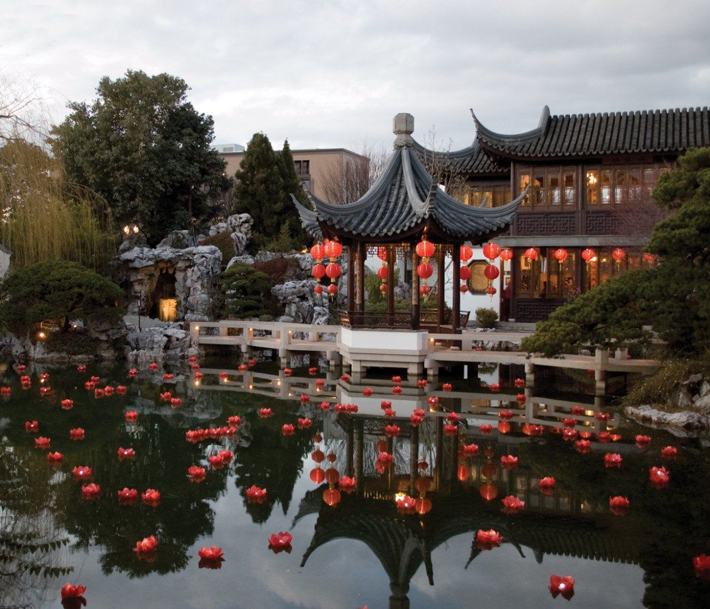 Portland, Oregon's Asian Gardens Asian garden, Chinese