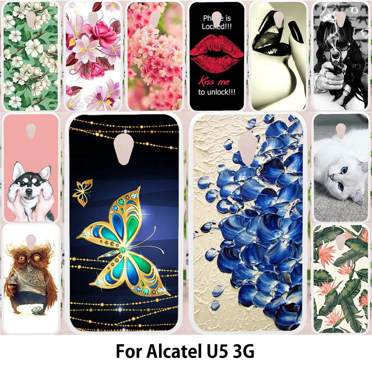 half off 069c2 584bc TAOYUNXI For Alcatel U5 3G Case For Alcatel U5 3G 4047D 4047 4047Y ...