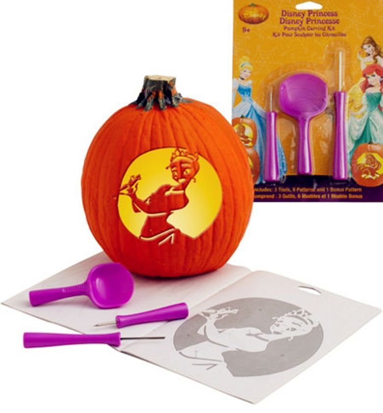 disney pumpkin carving kit. as easy bibbidi-bobbidi-boo, you can make pumpkins fit for a princess with our disney pumpkin carving kit! kit