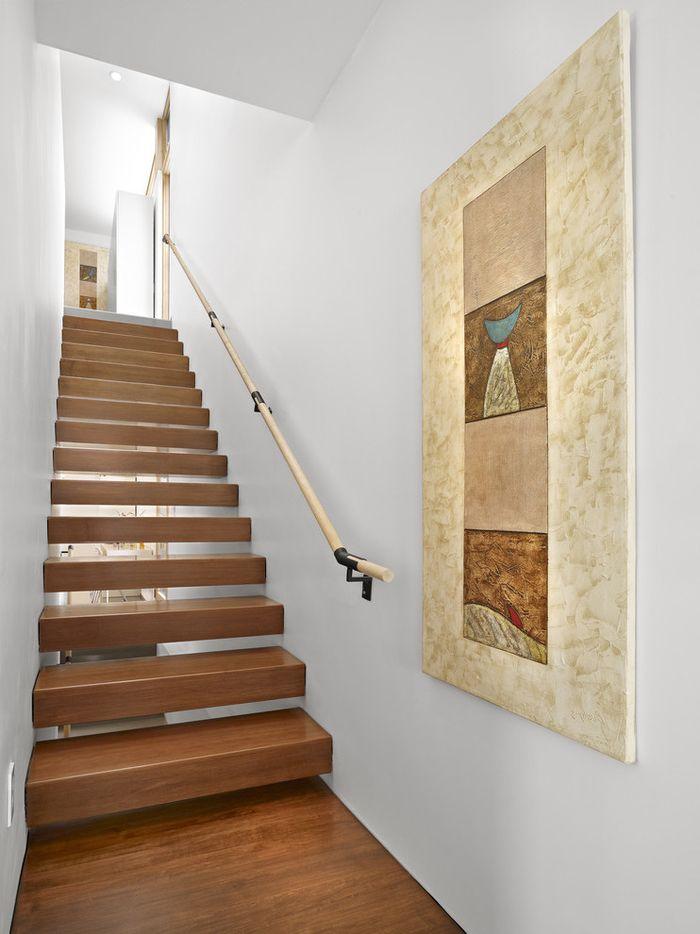 1001 id es pour r aliser une d co mont e d 39 escalier originale grand tableau escaliers en. Black Bedroom Furniture Sets. Home Design Ideas