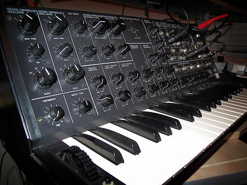 Korg MS-20. Probably my favorite analog synth out there. This beast is just sound perfected.