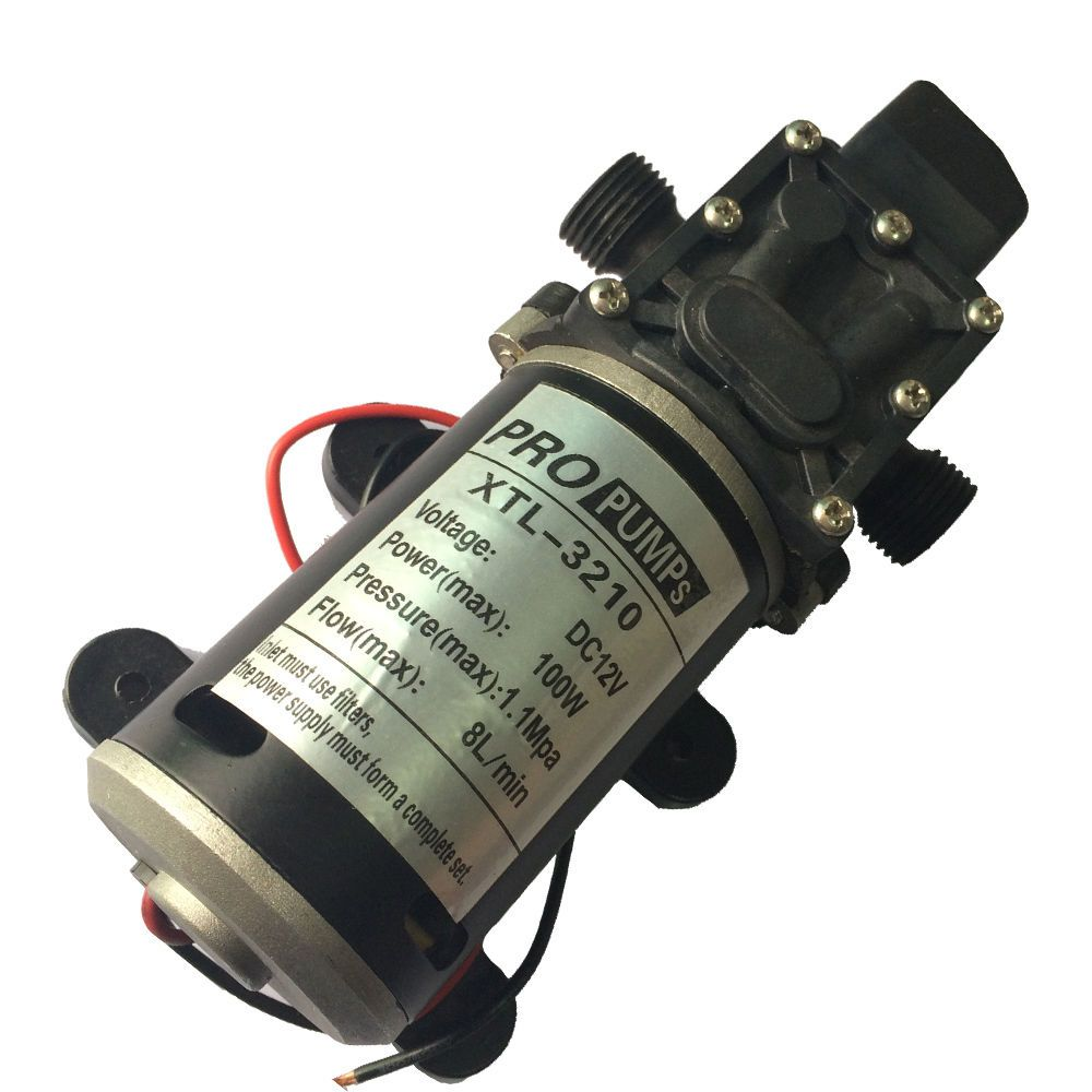 12v 100w high pressure water pump micro diaphragm pump 8lmin head 12v 100w high pressure water pump micro diaphragm pump 8lmin head 70m 11mpa ccuart Gallery