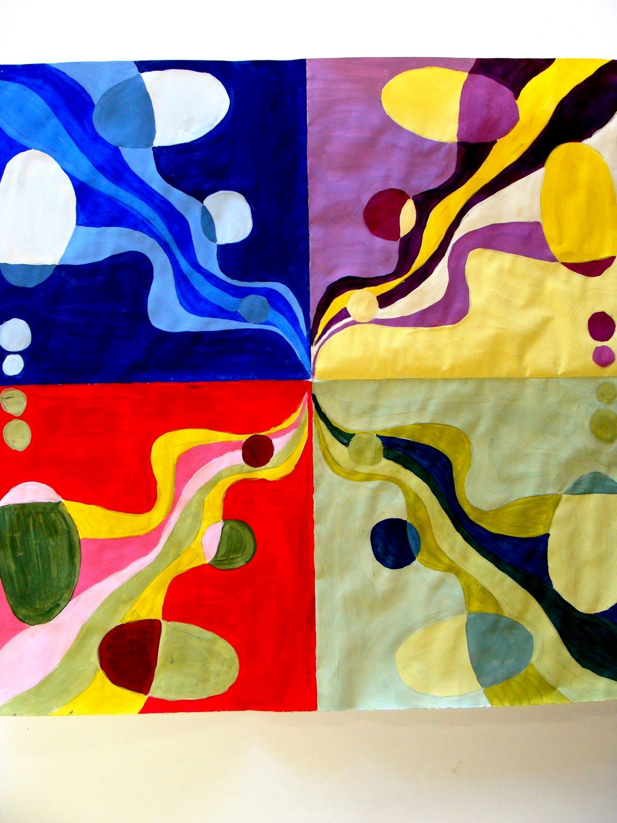 Balanced Designs Paintings