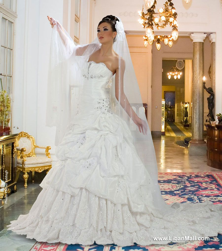 Weddings in lebanon - Wedding Dresses in Lebanon - Khairieh Mahfouz ...
