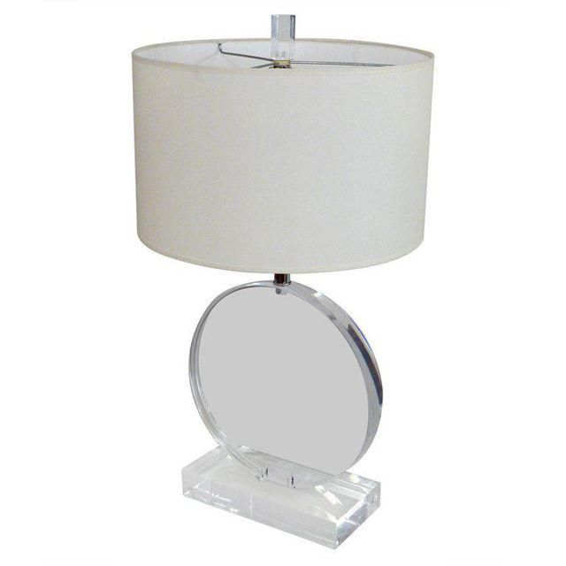 Superieur Image Of Lucite Table Lamp In The Manner Of Karl Springer