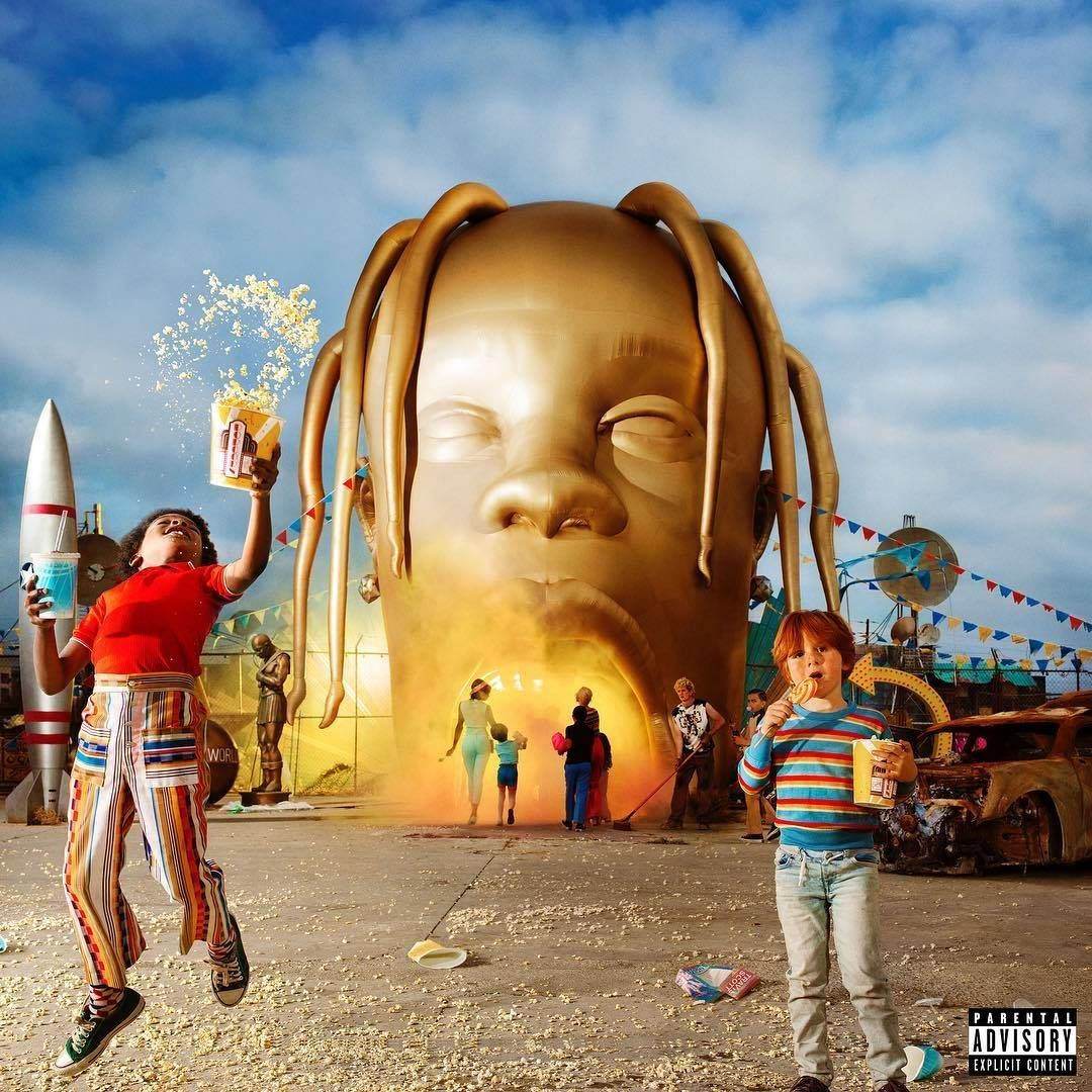 Album Review Our Top 5 Songs On Astroworld By Travis Scott Album Cover Art Music Album Cover Cool Album Covers
