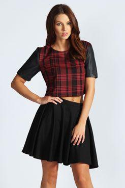 Lois Ponte Full Circle Skirt