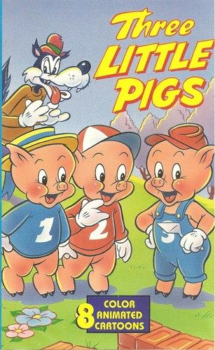 Three Little Pigs Vhs Three Little Pigs Little Pigs Famous Fairies