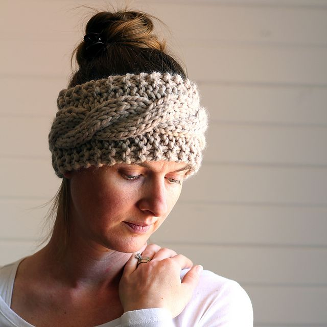 Headband Friendship Pattern By Brome Fields Knit Patterns