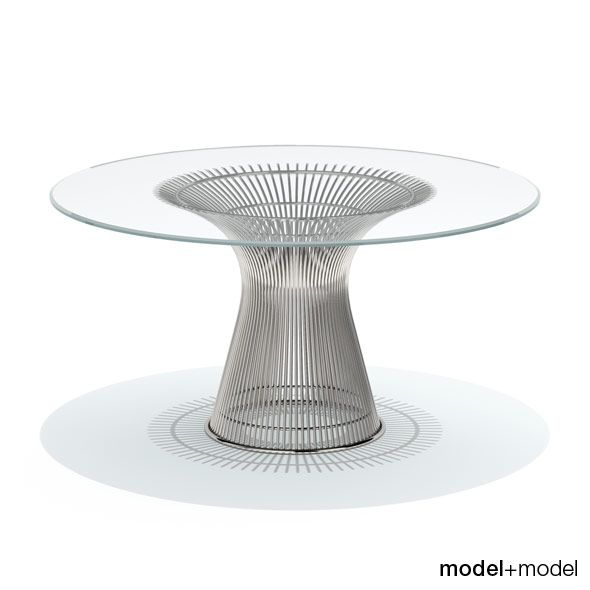 Knoll Platner Dining Table With Images Platner Dining Table