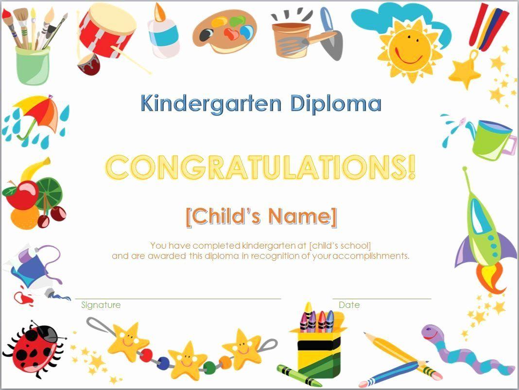 Pre K Certificate Templates New Free Printables Preschool Diplom Graduation Certificate Template Kindergarten Diploma Kindergarten Graduation Certificates Free