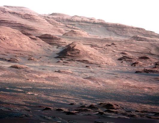 Mars Rover Curiosity  - Color photos
