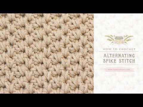 Punto de Crochet Entrelazado - YouTube | crochet | Pinterest ...